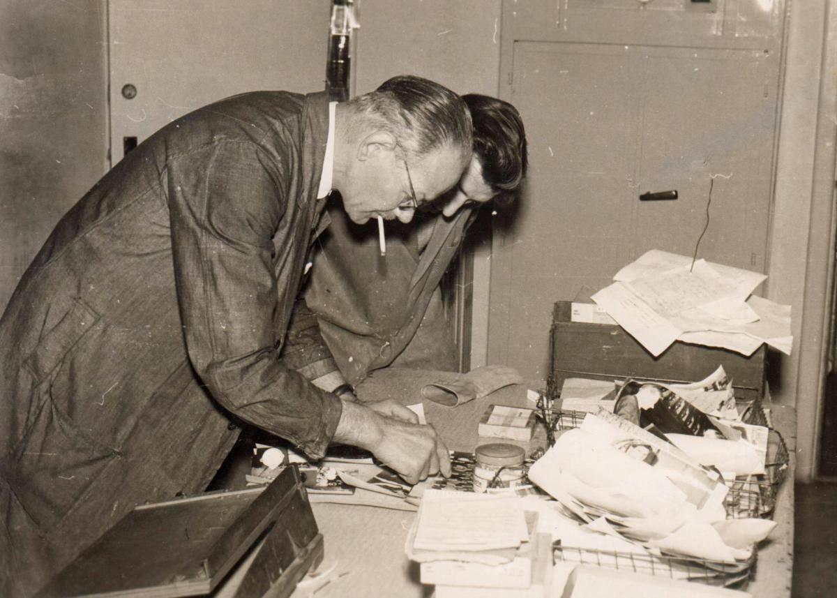 Reg Highfield and Ray Bailey c 1960