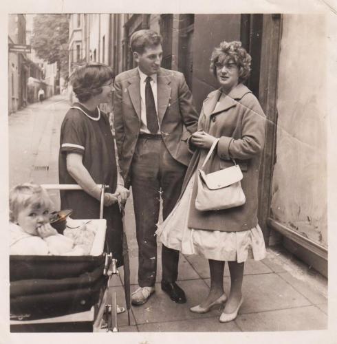 Tina  and Garth Smith c 1958